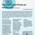 Mindfulness empty cup